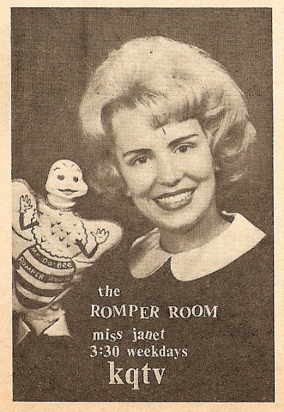 Romper Room Iowa teacher 1956