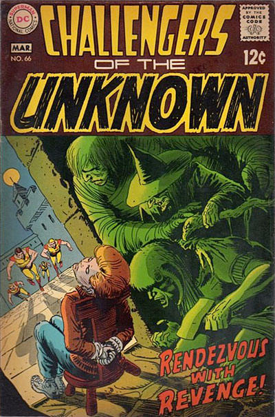 1969 Challengers of the Unknown cover