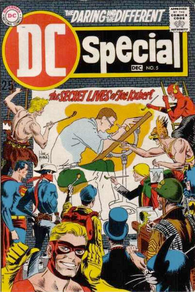 DC Special Joe Kubert tribute issue