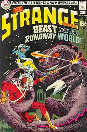 Strange Adventures comics with a Joe Kubert cover