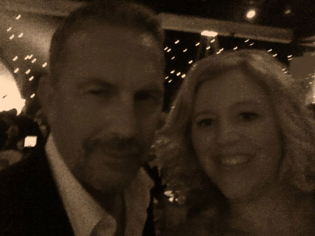 Kevin Costner and Pam Longworth