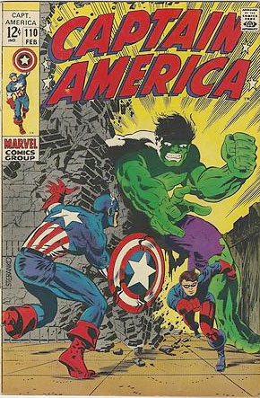 captain america comics 110