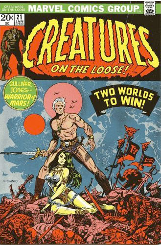 Steranko Comic Covers