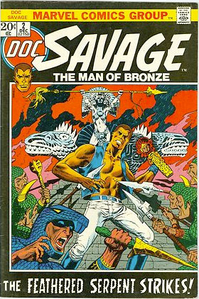 Doc Savage by steranko