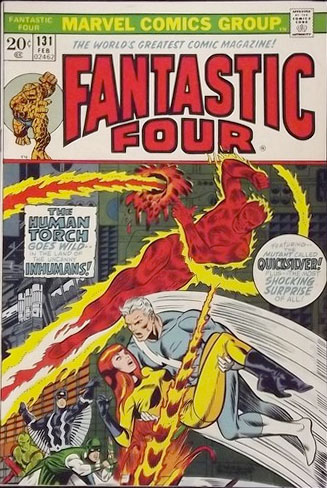 Jim Steranko Fantastic Four covers