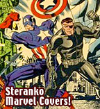 Jim Steranko Marvel Covers of the 60s & 70s