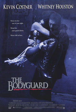 TV Blog / movie poster for The Bodyguard