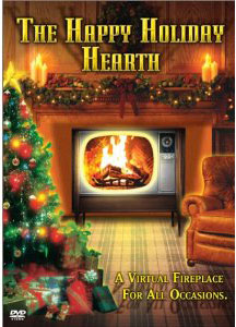 Holiday Hearth on DVd / virtual fireplace for Christmas