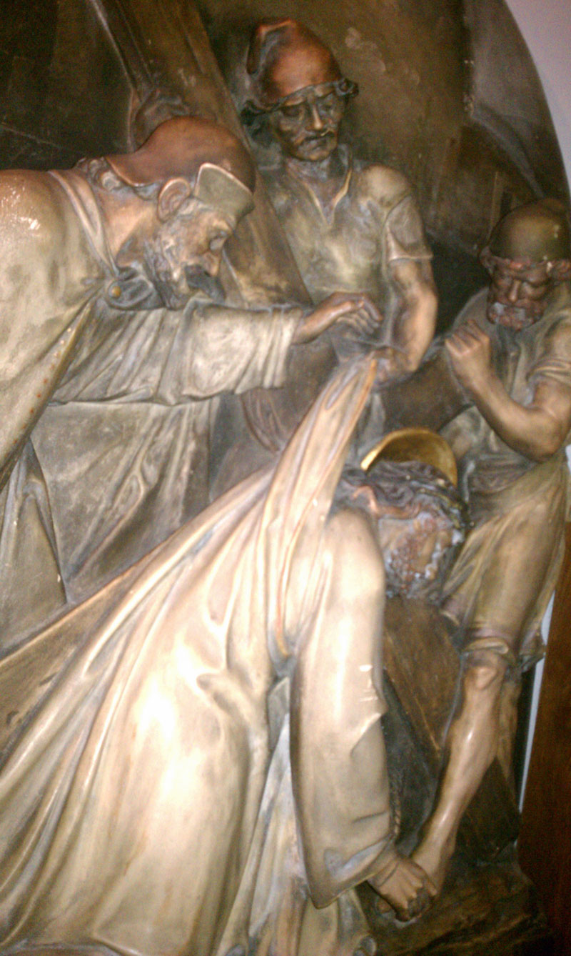 Stations of the Cross Diorama sculptures 1930?
