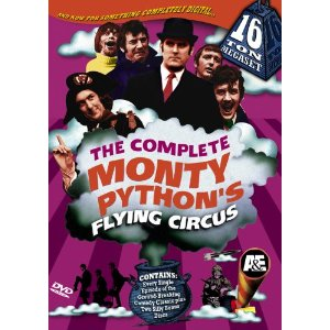the complete monty pythons flying circus 16-ton megaset dvd