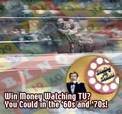 TV Racing & Bingo shows of the 1960s
