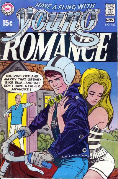1970's love Comic Book Covers