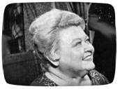 Barbara Pepper, the first Mrs Ziffel on Green Acres