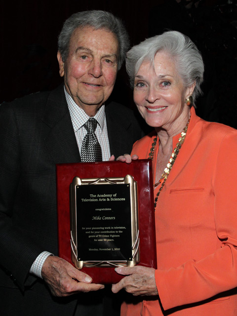 Mike Connors + Lee Meriwether