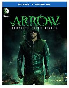 Arrow Season 3 on DVD