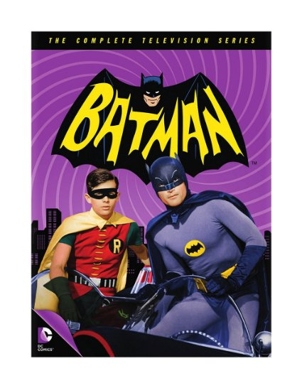 Batman 1966 TV Show on DVD