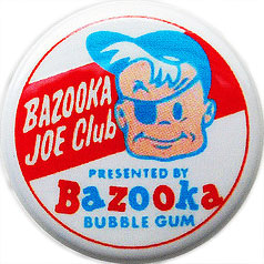 Bazooka Joe pin