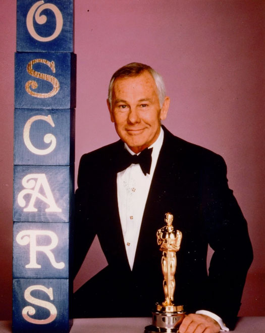 Johnny Carson Tonight Show & Oscars Host