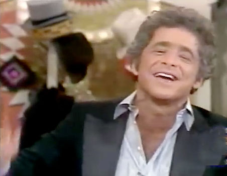 Chuck Barris of the Gong Show on NBC