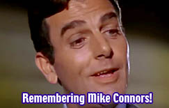 Mike Connors + TV's Mannix