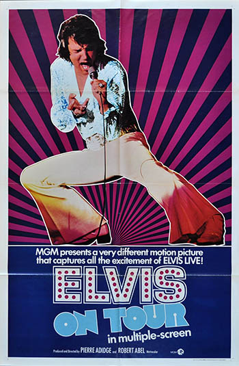 n Tour Elvis Greensboro 1972