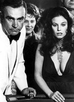 Lana Wood + james Bond