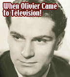 Laurence Olivier as Richard II in 1957 on TV