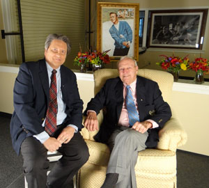 Arnold Palmer & Jim Longworth