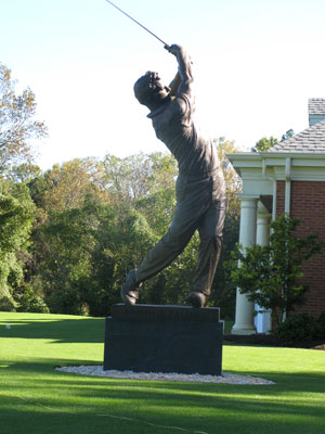 Arnold Palmer statue  Wake Forest
