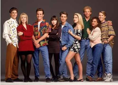 1990-91 TV Season : Beverly Hills 90210 cast
