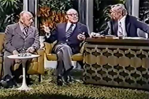 Jack Benny's Last Appearance on The Tonight Show