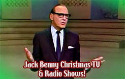 Jack Benny Christmas Specials 1940s-1960s