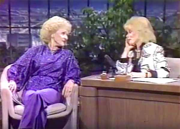 Betty White vs Joan Rivers!