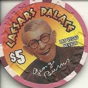 George Burns Casino Coin