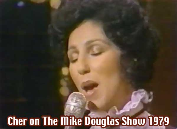 Cher on The Mike Douglas Show Feb. 28, 1979