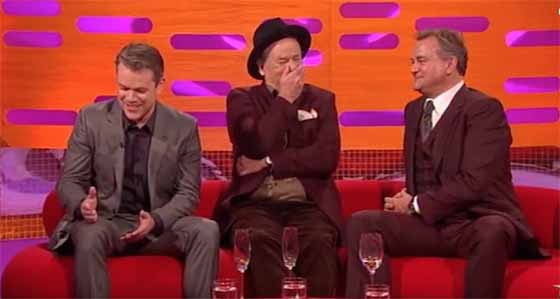 Matt Damon, Bill Murray, and Graham Norton - Big Laughs!