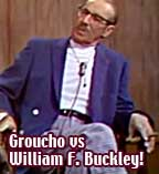 Groucho vs William F Buckley