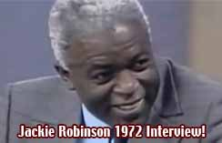 Jackie Robinson Interview 1972