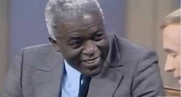 Jackie Robinson Interviewed in 1972