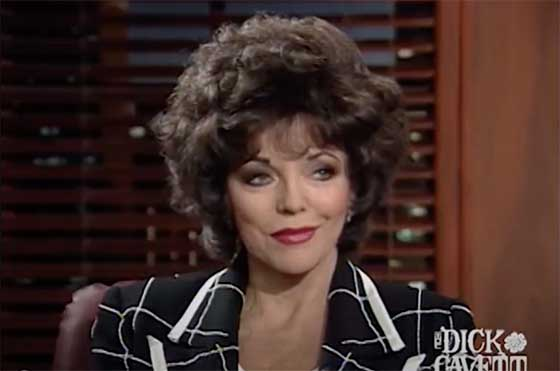 Joan Collins on Working With Drunk Actors