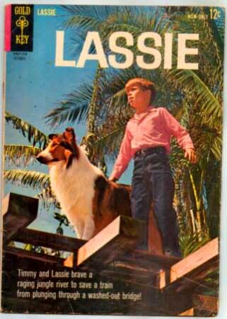 Lassie comic book