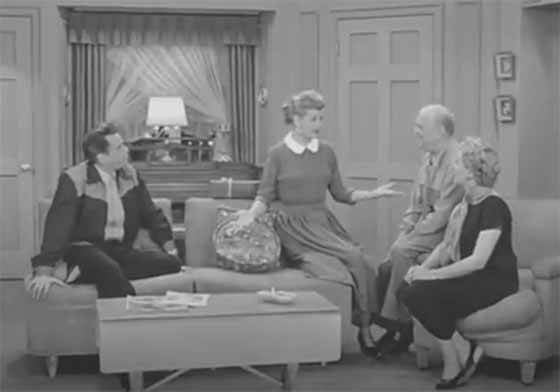 Lucy's Radio Sitcom Before I Love Lucy