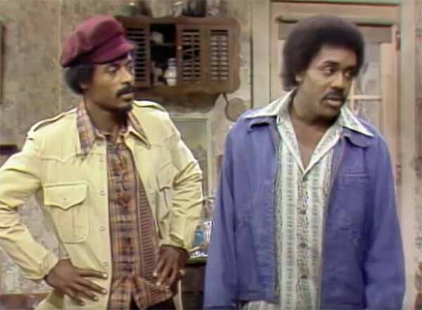 Nathaniel Taylor aka Rollo Lawson on Sanford & son