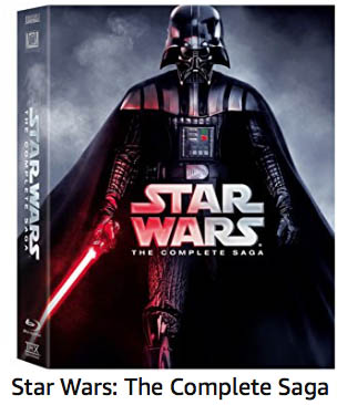 Star Wars Complete Saga on DVD