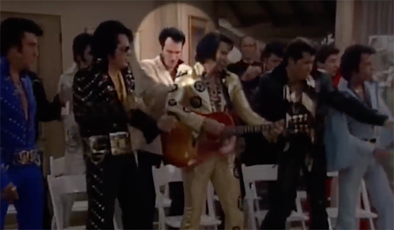 Quentin Tarantino as Elvis