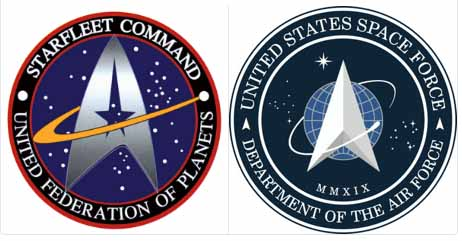 The US Space Force Logo is a Ripoff from Star Trek!