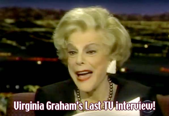 Virginia Graham's Final TV Interview
