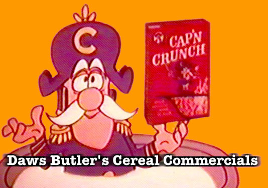 Daws Butler : Classic TV Cereal Commercials
