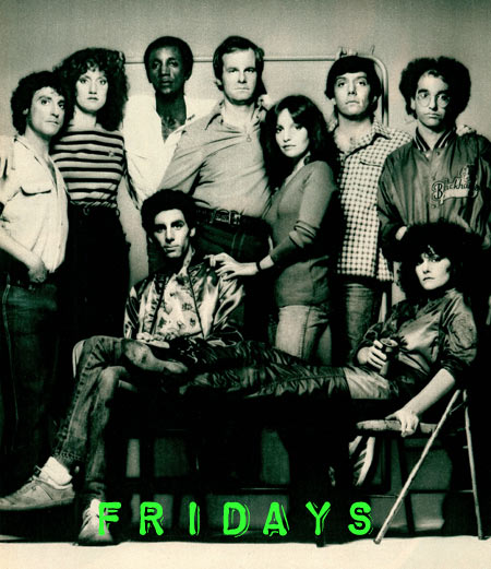 Fridays TV Show cast