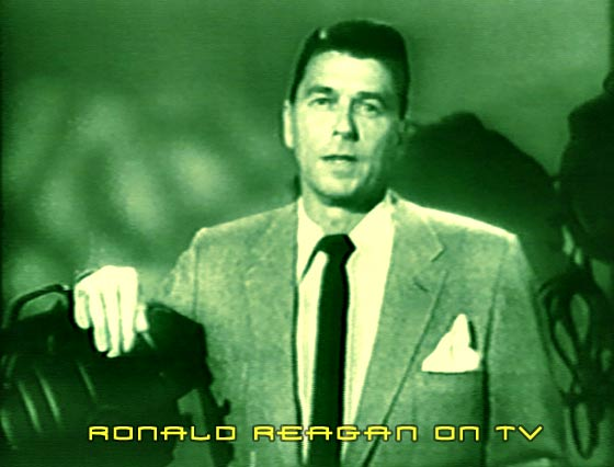 Ronald Reagan on television